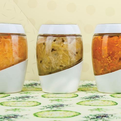 frasco para fermentados